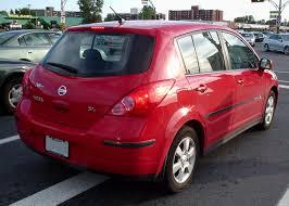 red nissan versa 2015 file nissan versa sl hatchback rear jpg wikimedia commons