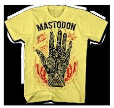 mastodon yellow t shirt mastodon shop mastodon