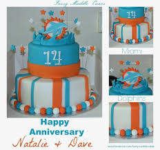 miami dolphins cake grooms cake stuff for tom pinterest