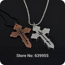 religious jewelry stores new orthodox cross alloy pendant necklace fashion