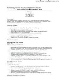 qa resume qa tester resume objective qa tester resume objective