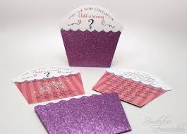 cupcake glitter birthday invitations invitation fascination