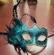 teal masquerade masks aqua masquerade mask