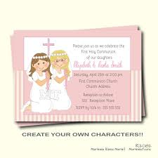 communion invitations for girl communion invitation holy communion