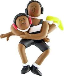 african american wrestling christmas ornament u2013 fun christmas