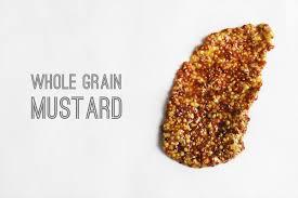 whole grain dijon mustard whole grain mustard honeysuckle