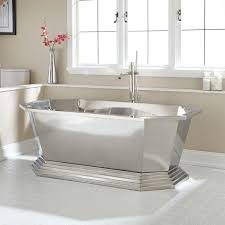 beautiful steel vessel tub casual of terrific durable also