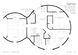 two floor round home with garage alternative homes pinterest and