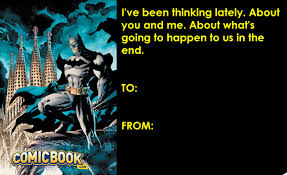 batman valentines say happy s day with the walking dead batman and more