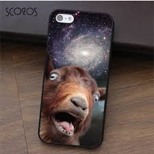 Dog On Phone Meme - scozos goat meme fashion cell phone case cover for iphone x 4 4s 5