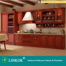 linkok furniture china made wholesale price solid wood kitchen