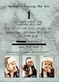 Halloween First Birthday Invitations Time Flies U201d Airplane Themed First Birthday Party Diying To Be