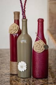 Diy Wine Bottle Vases 35 Easy Diy Wine Bottles Crafts And Ideas Pinspopulars