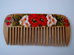 wooden comb hair care girlfriend gift sister valentines gift for