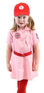 a league of their own costume rockford aagpbl baseball costume dress