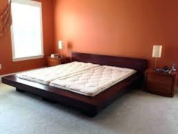 Platform Style Bed Frame Asian Style Bed Renaniatrust