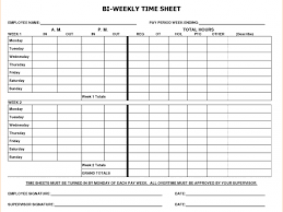 sample time sheets and 8 bi weekly timesheet template timeline