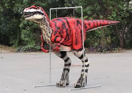 velociraptor costume realistic velociraptor costume animatronic dinosaur costume