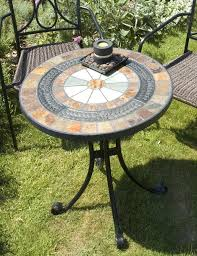 outdoor mosaic bistro table fantastic mosaic bistro table set of 3pcs outdoor mosaic bistro set