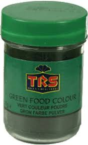 trs green food colour 25g indian and african grocery store
