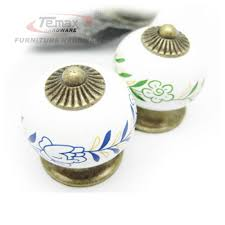 knobs or handles for kitchen cabinets aliexpress com buy 75mm european marble bronze ceramic knobs and