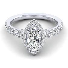 diamond shaped rings images 14k white gold 1 96cttw marquise shaped halo diamond engagement jpg