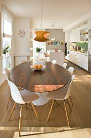 Oval Kitchen Table With Bench Double Pedestal Dining Table Kitchen Contemporary With Bench Seats
