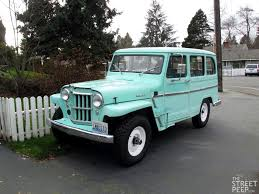 jeep station wagon for sale the street peep 1961 willys overland 4wd station wagon