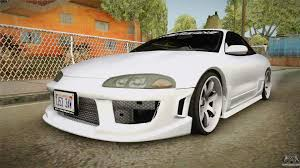 mitsubishi eclipse tuned mitsubishi eclipse gsx for gta san andreas