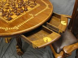chess table and chairs set chess table and chair set award winning woodworking marquetry