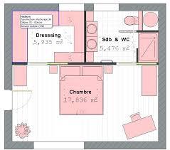 chambre parentale 20m2 plan chambre salle de bain plan chambre salle de bain plan suite