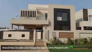 a beautiful 1 kanal house for sale in dha phase 6 lahore youtube