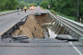 Wisconsin Road Construction Map by Wi Bridge That Washed Out Re Opened
