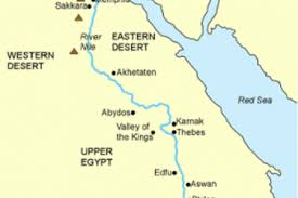nile river on map map of nile river in ancient