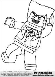 color pages batman u0027s villians lego lego batman joker