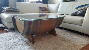 i made a wine barrel table with a whiskey showcase album on imgur