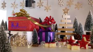 christmas presents christmas card animation business message