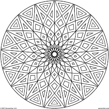cool designs cool geometric design coloring pages getcoloringpages