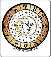 all zodiac sign in horoscope circle retro illustration u2014 stock