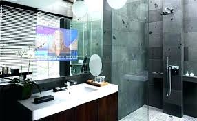 tv in the mirror bathroom tv mirror kit mirror bathroom in mirror above the vanity mirror