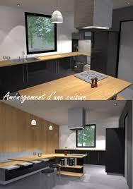 cuisine fermee d une cuisine fermée avec ilot central