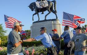 New Orleans Flag New Orleans Takes Down 3rd Confederate Era Monument Deseret News