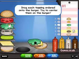 jeux de cuisine de papa papa s burgeria kizi is
