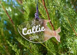 christmas ornaments custom acrylic cat ornament personalized