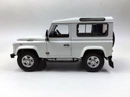 land rover defender black land rover defender 90 white 1 18 kyosho ebay