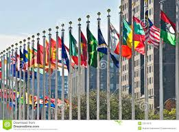 Picture Of Un Flag Un Flags Stock Image Image Of Nations United World 22214219