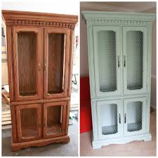 how to put chicken wire on cabinet doors how to install chicken wire into a hutch all things new interiors