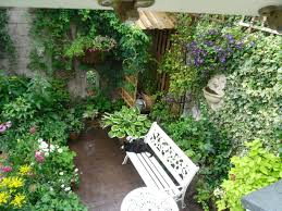 Small Garden Ideas by Small Garden Ideas To Make The Most Of A Tiny Space Symmetrical