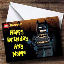 lego batman personalised birthday card the card zoo