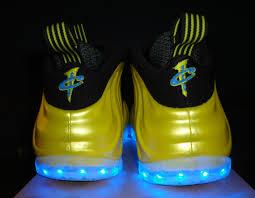 Lime Lights Shoes Nike Air Foamposite One U0027electrolime U0027 Light Up Customs Available